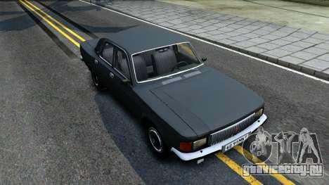 ГАЗ 3102 СССР для GTA San Andreas вид справа