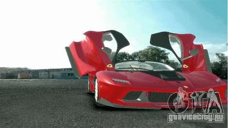 Ferrari FXX K [EPM] для GTA 4 вид сзади