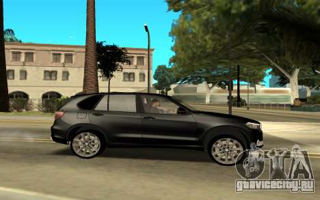 BMW X6 для GTA San Andreas вид слева