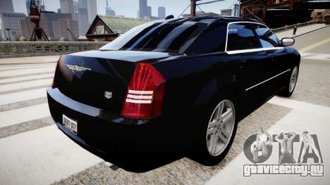 Chrysler 300C v1.3 для GTA 4 вид справа