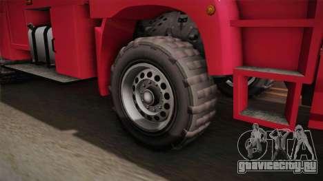 GTA 5 MTL Brickade для GTA San Andreas вид сзади