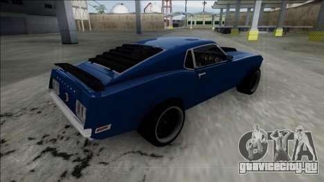 1970 Ford Mustang Boss 429 для GTA San Andreas вид слева