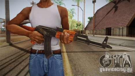 CoD 4: MW - AK-47 Remastered для GTA San Andreas третий скриншот