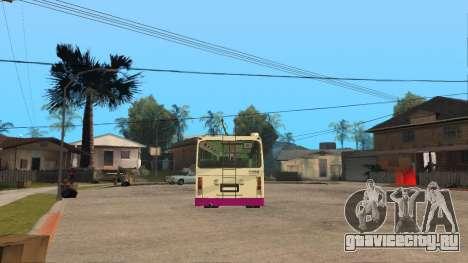 МТРЗ 5279 Русь для GTA San Andreas вид сзади