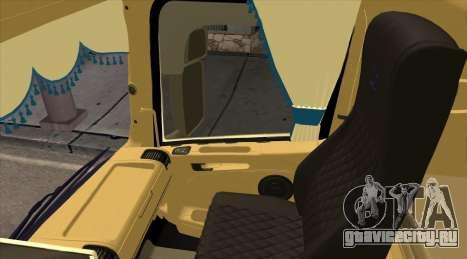Scania R730 для GTA San Andreas вид справа