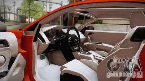 Audi Le Mans Quattro 2005 v1.0.0 Dirt PJ для GTA San Andreas вид справа