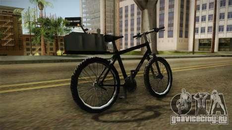 Police Mountain Bike для GTA San Andreas вид справа