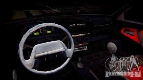 ВАЗ 2113 Light Tuning для GTA 4 вид изнутри
