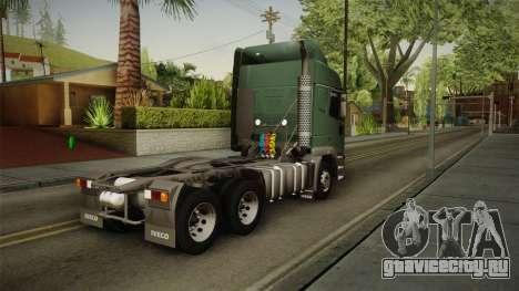 Iveco EuroTech 400E34 Tractor 6x4 v3.2 Final для GTA San Andreas вид слева