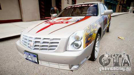 Cadillac CTS-V Coupe для GTA 4 вид сзади слева