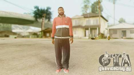 GTA 5 Franklin Jacket and Tracker Pant v2 для GTA San Andreas