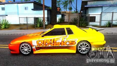 Elegy Paintjob DriftWorks для GTA San Andreas вид слева