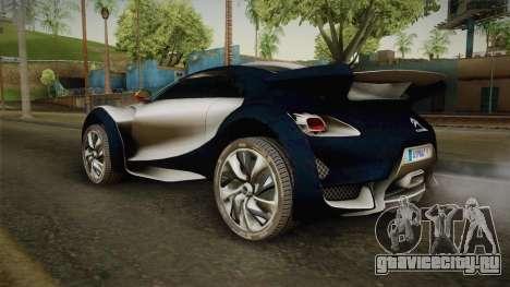 Citroën Survolt v2 Glossy для GTA San Andreas вид слева