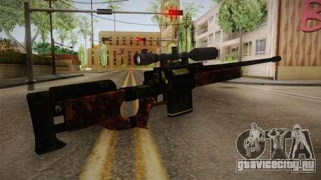 Sniper Estilo Ejercito Mexicano для GTA San Andreas второй скриншот