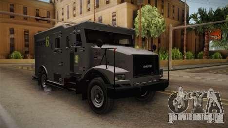 GTA 5 Brute Stockade для GTA San Andreas