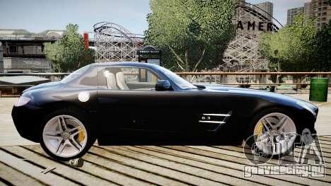 Mercedes-Benz SLS63 AMG для GTA 4 вид слева
