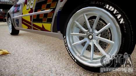 Cadillac CTS-V Coupe для GTA 4 вид сзади