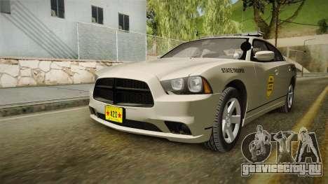 Dodge Charger 2012 SA State Patrol для GTA San Andreas