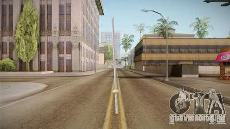 NUNS4 - Sasuke Boruto The Movie Sword для GTA San Andreas второй скриншот