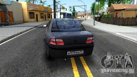 Opel Omega 1998 для GTA San Andreas вид сзади слева