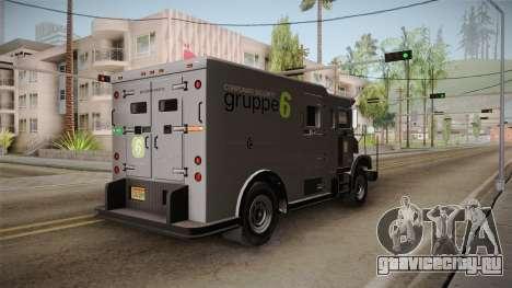 GTA 5 Brute Stockade для GTA San Andreas вид слева