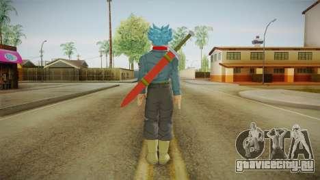 DBX2 - Trunks SSJB для GTA San Andreas третий скриншот