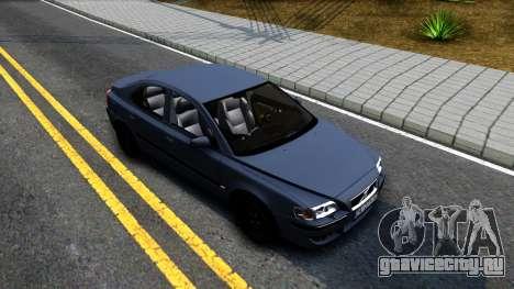 Volvo S60R для GTA San Andreas вид справа