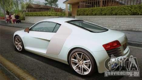 Audi Le Mans Quattro 2005 v1.0.0 Dirt PJ для GTA San Andreas вид слева