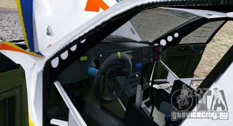 BMW X3 CC X-Raid для GTA San Andreas вид изнутри