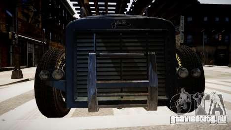 Phantom Hot-Rod для GTA 4 вид изнутри