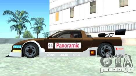 Infernus GT2 для GTA San Andreas вид сзади
