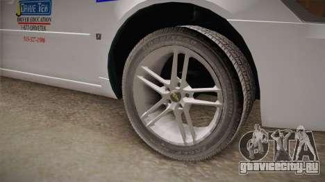 Chevrolet Impala LTZ 2008 Drivetek для GTA San Andreas вид сзади