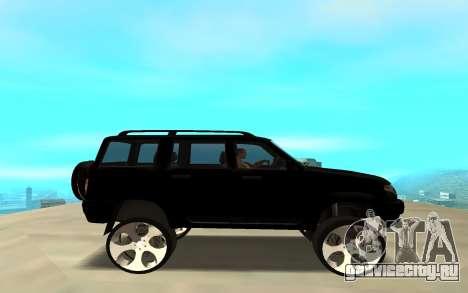 УАЗ Патриот 2014 для GTA San Andreas вид слева