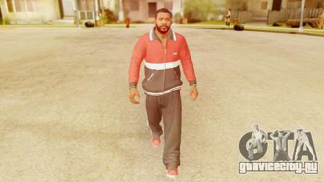 GTA 5 Franklin Jacket and Tracker Pant v2 для GTA San Andreas второй скриншот