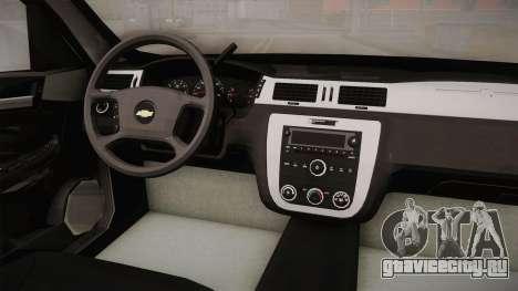 Chevrolet Impala LTZ 2008 Drivetek для GTA San Andreas вид изнутри