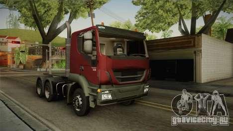 Iveco Trakker Hi-Land 6x4 Cab Low v3.0 для GTA San Andreas