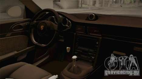 Porsche 911 Sport Classic Tuned для GTA San Andreas вид изнутри