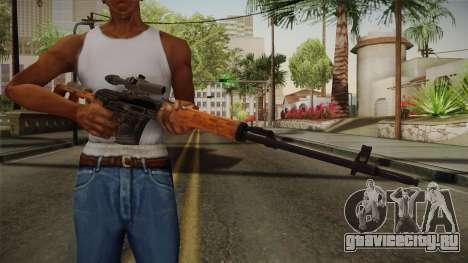 CoD 4: MW - Dragunov Remastered для GTA San Andreas третий скриншот