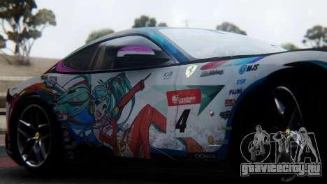 Ferrari F12 Berlinetta 2013 для GTA San Andreas вид сзади
