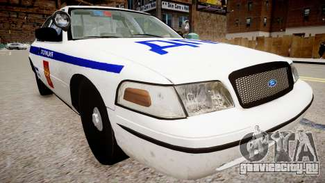 Ford Crown Victoria Полиция ДПС для GTA 4