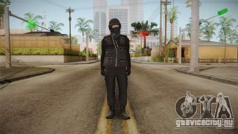 GTA Online DLC Heists Skin для GTA San Andreas второй скриншот