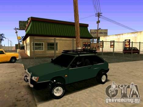 ВАЗ-2108 4x4 для GTA San Andreas вид слева