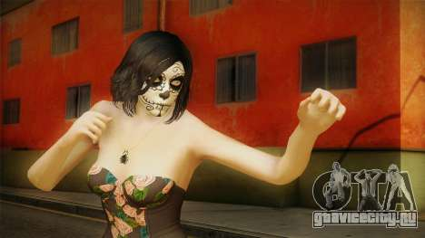Halloween Surprise DLC Female Skin для GTA San Andreas