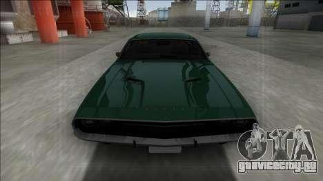 1970 Dodge Challenger 426 Hemi для GTA San Andreas