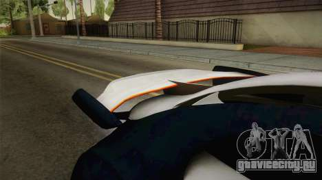 Citroën Survolt v2 Glossy для GTA San Andreas вид изнутри