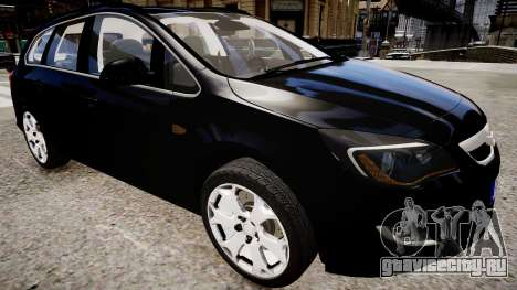 Opel Astra Sports Tourer 2011 для GTA 4 вид справа