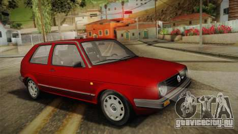 Volkswagen Golf Mk2 Stock для GTA San Andreas