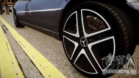 Mercedes-Benz S70 для GTA 4 вид сзади