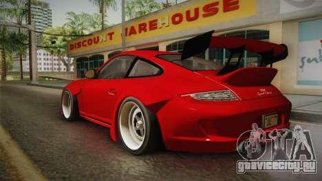 Porsche 911 Sport Classic Tuned для GTA San Andreas вид слева
