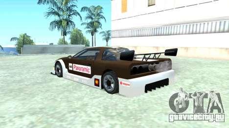 Infernus GT2 для GTA San Andreas вид слева